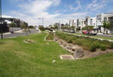 Detention basin (quality/flow)