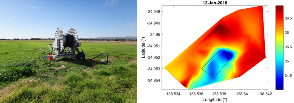 Category 4 winners, SA Water - Adelaide Airport irrigation trial
