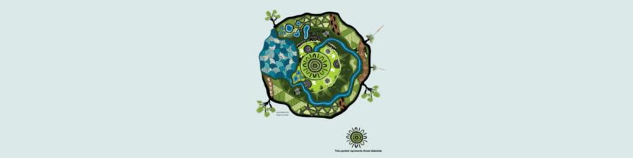 Kardalta Tarntanya - Green Adelaides vision. Illustration by Allan Sumner