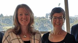 Mellissa Bradley and Kathryn Bothe - Water Sensitive SA program management team