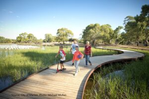 Oaklands Park Wetlands City of Marion
