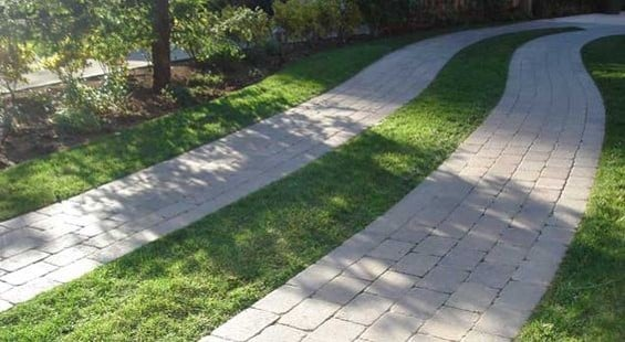 reducing hard surfaces outside the home