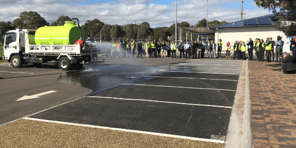Permeable paving projects and demos