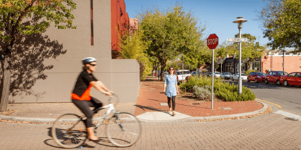 Planning and Design code - person riding a bicycle