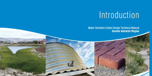 SA WSUD technical manual