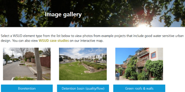 WSUD image gallery